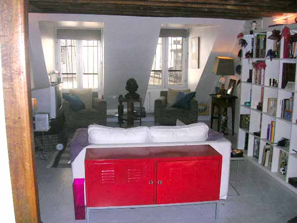 Ah Paris vacation apartment 111 - salon2