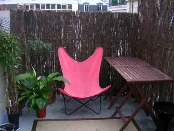 Ah Paris vacation apartment 111 - terrasse