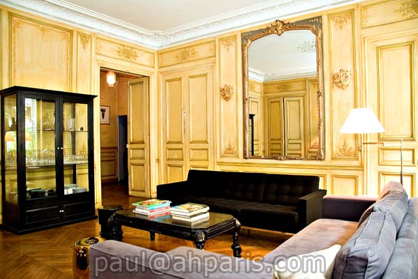 Ah Paris vacation apartment 165 - salon3