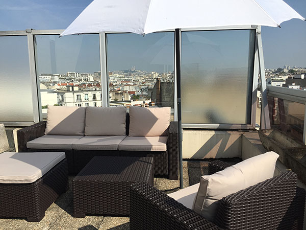 Ah Paris vacation apartment 2 - terrasse
