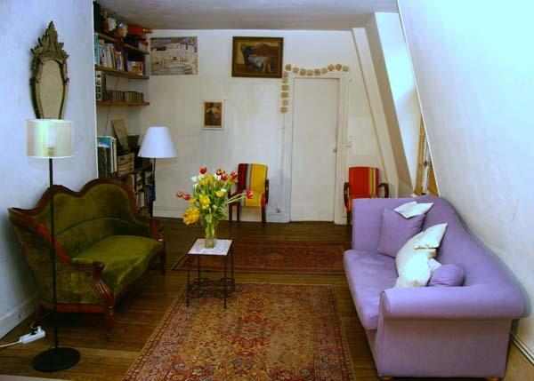 Ah Paris vacation apartment 221 - salon