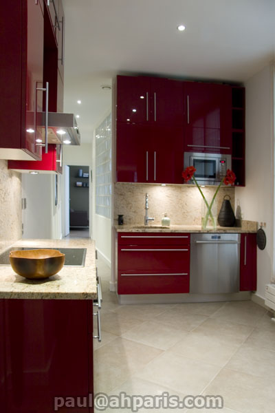 Ah Paris vacation apartment 229 - cuisine