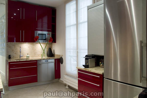 Ah Paris vacation apartment 229 - cuisine2