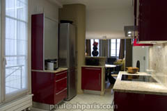 Ah Paris vacation apartment 229 - cuisine3