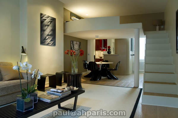 Ah Paris vacation apartment 229 - salon2