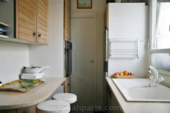 Ah Paris vacation apartment 230 - cuisine