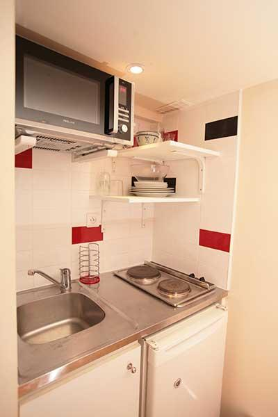 Ah Paris vacation apartment 232 - cuisine