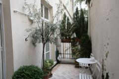 Ah Paris vacation apartment 247 - terrasse2