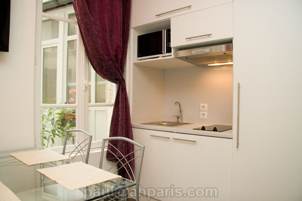 Ah Paris vacation apartment 276 - cuisine