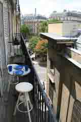 Ah Paris vacation apartment 307 - terrasse2