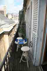 Ah Paris vacation apartment 307 - terrasse