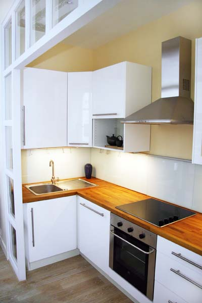 Ah Paris vacation apartment 321 - cuisine