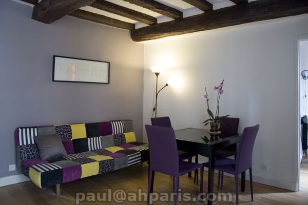 Ah Paris vacation apartment 390 - salon4