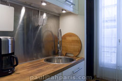 Ah Paris vacation apartment 416 - cuisine