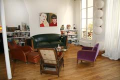 Ah Paris vacation apartment 72 - salon2