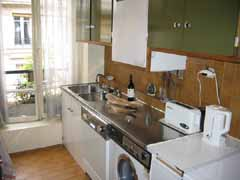 Ah Paris vacation apartment 82 - cuisine