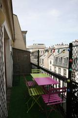 Ah Paris vacation apartment 88 - terrasse