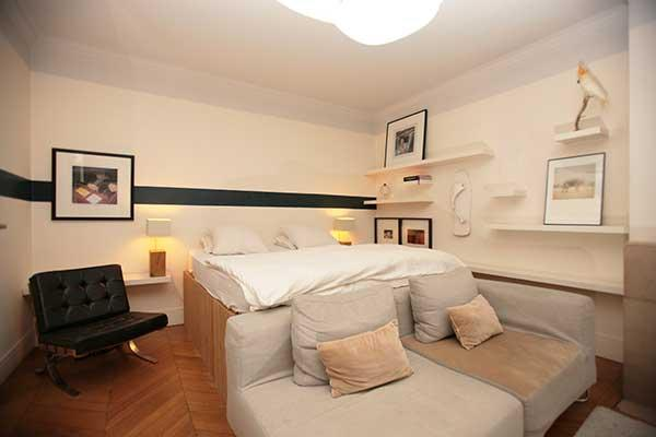 Ah Paris vacation apartment 96 - chambre