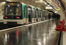 Paris Metro Transportation
